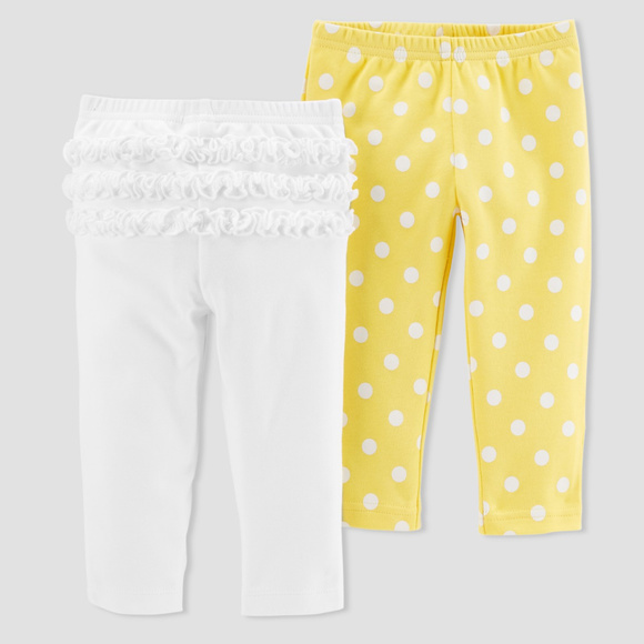 ae2b11d78 Just One You by Carter's Bottoms | New Carters Baby Girl 2pk Pants ...